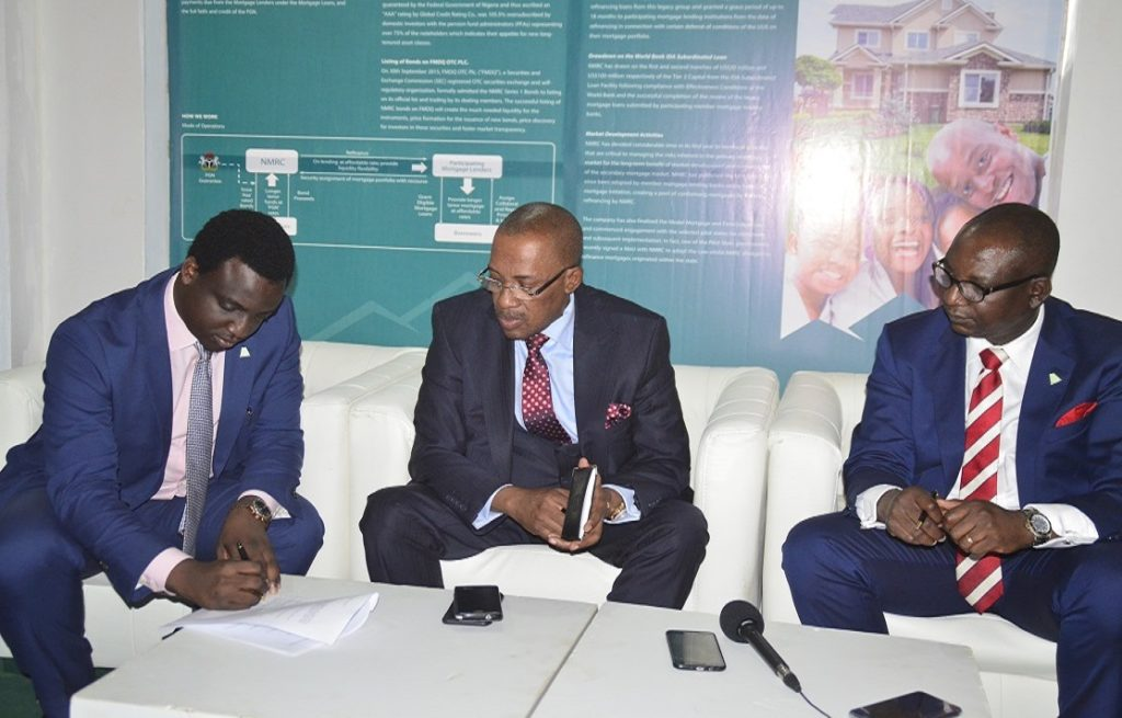 Nigeria Mortgage Refinance Company & Alpha Mead, Sign MoU