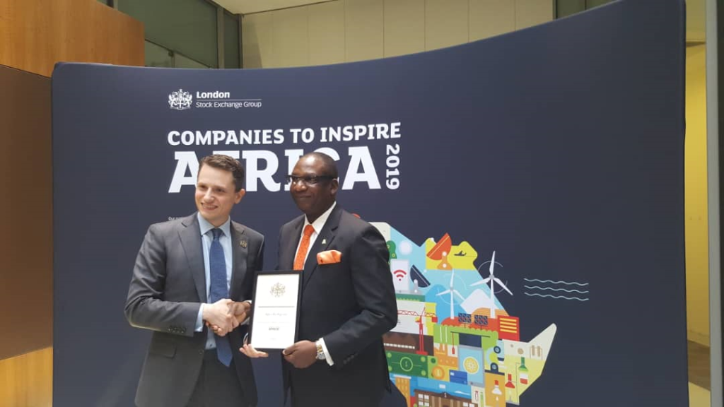 Companies to Inspire Africa 2019' Report Identifies Alpha Mead